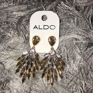 Aldo Crystal Elegant Earrings